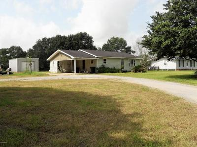 Vermilion Parish Single Family Home For Sale: 10523 La Hwy 92