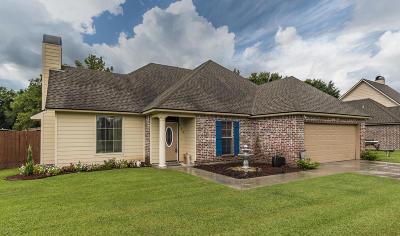 Carencro Single Family Home For Sale: 305 Magnolia Knee Drive