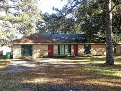 Eunice Single Family Home For Sale: 231 Aquilla Drive