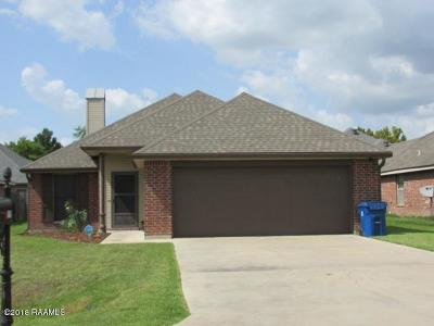 Carencro Single Family Home For Sale: 119 St Fabian Drive