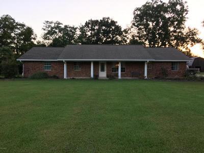 Jennings Single Family Home For Sale: 3321 Evangeline