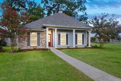 Youngsville Single Family Home For Sale: 100 Crest Circle