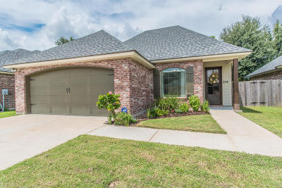 Youngsville Single Family Home For Sale: 214 Milton Estates