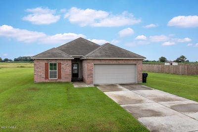 Vermilion Parish Single Family Home For Sale: 9017 Red Rose Lane