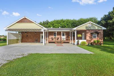 New Iberia Single Family Home For Sale: 2812 Ned Sonnier Street