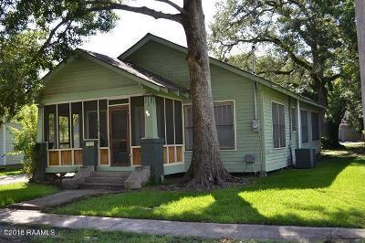 New Iberia Single Family Home For Sale: 240 Pollard Avenue