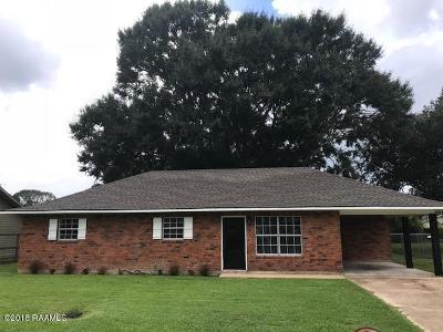 Opelousas Single Family Home For Sale: 155 McBride Drive