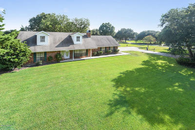 Abbeville Single Family Home For Sale: 16335 W Hwy 330