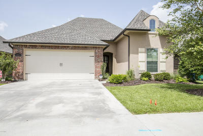 Youngsville Single Family Home For Sale: 218 Bayou Parc Drive