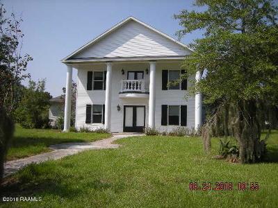 Breaux Bridge Single Family Home For Sale: 1022 La Savanne Drive
