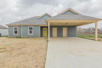 Breaux Bridge Single Family Home For Sale: 1011 Lillian Michel Drive