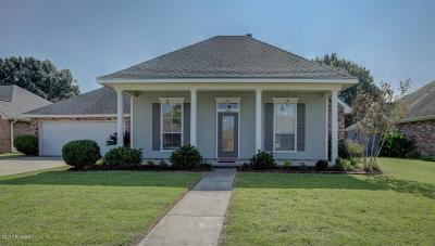 Lafayette Single Family Home For Sale: 204 N Lakepointe Drive