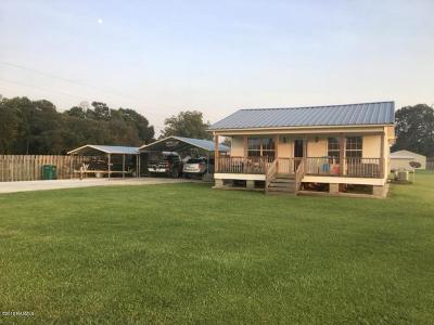 Breaux Bridge Single Family Home For Sale: 1086 Grand Anse Hwy