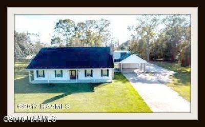 Abbeville Single Family Home For Sale: 8223 Meadow Lane