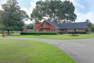 St Martinville, Breaux Bridge, Opelousas Single Family Home For Sale: 292 Country Ridge Road