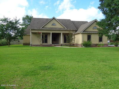 New Iberia Single Family Home For Sale: 3310 Loreauville Road