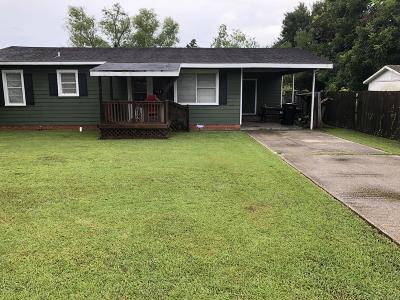 Jeanerette Single Family Home For Sale: 603 Driulhet Street