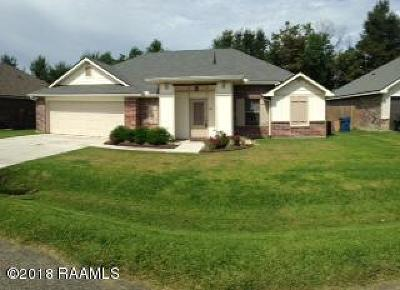 Duson Single Family Home For Sale: 315 Stoneridge Drive