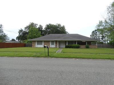 Opelousas Single Family Home For Sale: 1123 Abdalla Boulevard