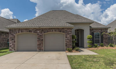 Broussard Single Family Home For Sale: 102 Cascade Water Lane