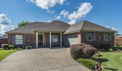 Broussard Single Family Home For Sale: 102 S Grindstone Drive