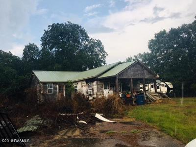 Opelousas Single Family Home For Sale: 198 Ross Rd Road