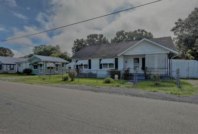 Abbeville  Single Family Home For Sale: 707 S Louisiana Street