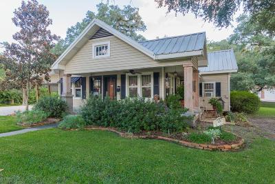 Breaux Bridge Single Family Home For Sale: 1008 Oak Drive