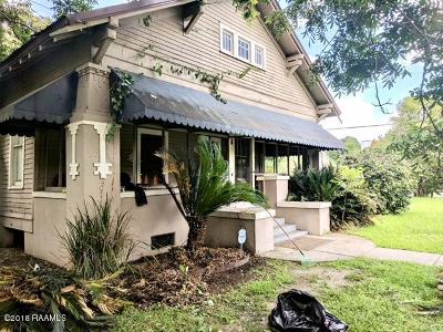Opelousas Single Family Home For Sale: 239 N Bullard Avenue
