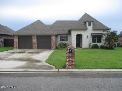 New Iberia Single Family Home For Sale: 307 Sugar Creek Lane