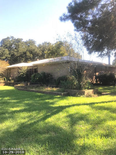 New Iberia Single Family Home For Sale: 2113 Morning Glory