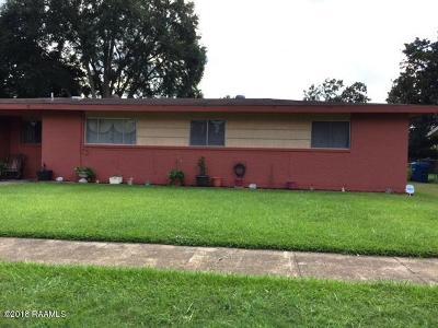 Carencro Single Family Home For Sale: 113 Bradford Drive