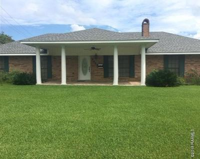 St Martinville, Breaux Bridge, Opelousas Single Family Home For Sale: 1453 S Union Street