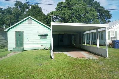 Vermilion Parish Single Family Home For Sale: 408 N Morvant Avenue
