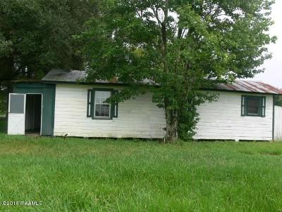 Iberia Parish Single Family Home For Sale: 7610 Old Jeanerette Road
