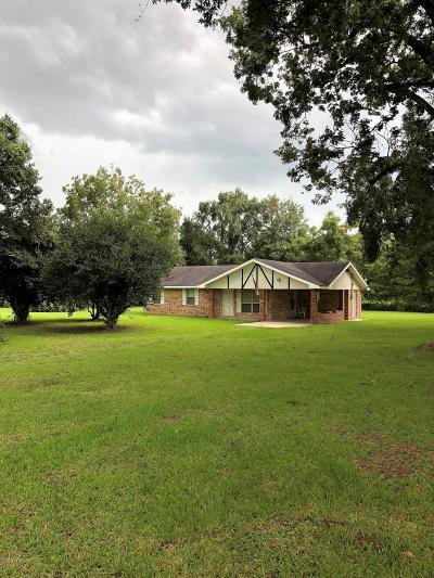 Opelousas Single Family Home For Sale: 1782 Prayer House Road