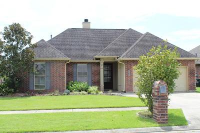 Broussard Single Family Home For Sale: 102 Spanish Moss Lane