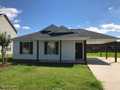 Carencro Single Family Home For Sale: 111 Hidden Oak Drive