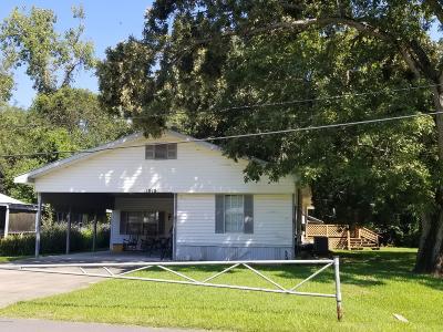 Breaux Bridge Single Family Home For Sale: 1048 Vermillion Street