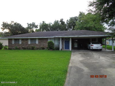 Iberia Parish Single Family Home For Sale: 912 Julia Street