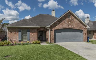Carencro Single Family Home For Sale: 109 Saint Fabian Drive