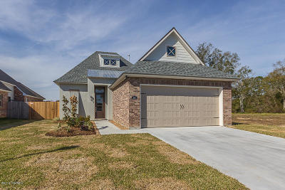 broussard Single Family Home For Sale: 103 Valsain Court