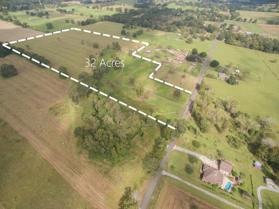 St Landry Parish Farm For Sale: Tbd Hidden Hills Rd