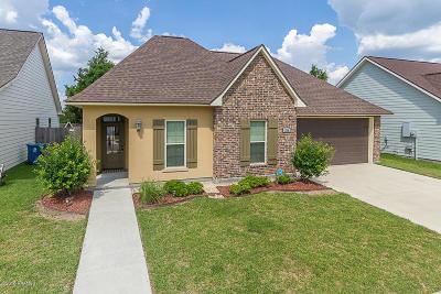 Carencro Single Family Home For Sale: 204 Oak Path Drive
