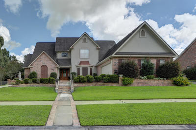 Lafayette Single Family Home For Sale: 308 Camberly Circle