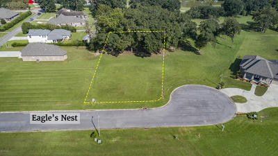 Iberia Parish Residential Lots & Land For Sale: Tbd Lot 7 Eagles Nest