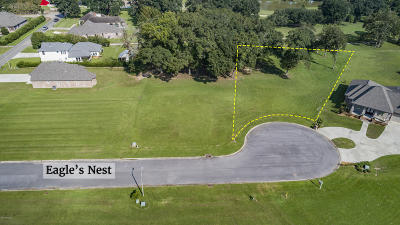 Iberia Parish Residential Lots & Land For Sale: Tbd Lot 8 Eagles Nest