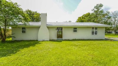 New Iberia Single Family Home For Sale: 7803 Soileau Road