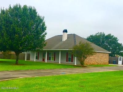 Single Family Home For Sale: 125 Comanche Lane