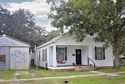 Jeanerette Single Family Home For Sale: 210 Louisiana Street